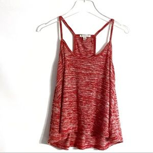 A. Eagle Heather Red Tank Top